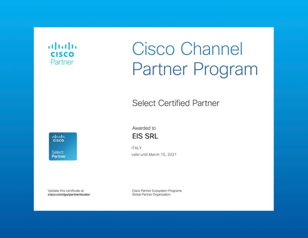 teameis è cisco selected partner